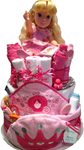 DISNEY PRINCESS SWEET BABY DIAPER CAKE