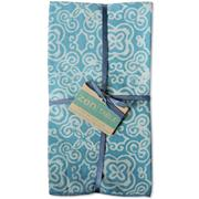 NAPKINS-BATIK AQUA SET OF 4