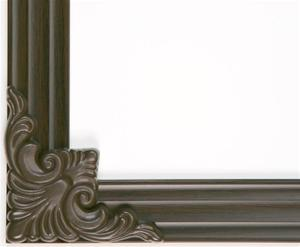 MirrEdge DIY Mirror Framing System - (Up to 75 in. x 72 in.) Cherry Walnut Decorative