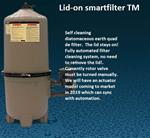 Lid-On Smartfilter®  diatomaceous earth quad filter