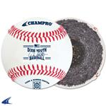 Champro DIXIE LEAGUE APPROVED BASEBALL - FULL GRAIN LEATHER COVER - CATEGORY 1