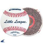 Champro LITTLE LEAGUE® - DOUBLE CUSHION CORK CORE - FULL GRAIN LEATHER COVER