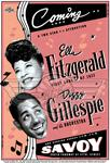 """Ella Fitzgerald and Dizzy Gillespie at the Savoy Ballroom"" (1940s)"