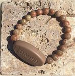 Pause For Peace  -  Autumn Jasper Natural Stone