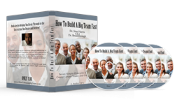 Book On CD How To Build a Big Team Fast Book on CD