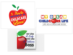 CHILDCARE BOSS WALL DECALS