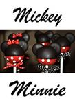 Mickey & Minnie Mouse Pops