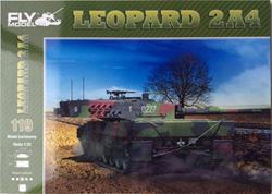 FM LEOPARD 2A4 PAPER MODEL KIT SCALE 1/25