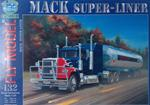 FM MACK SUPER-LINER PAPER MODEL KIT IN 1/25 SCALE