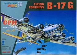 GPM B-17 G FLYING FORTRESS SCALE 1/33