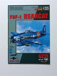 GPM F8F-1 BEARCAT SCALE 1/33