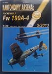 AH FOCKE-WULF FW 190A-4 PAPER MODEL KIT IN 1/33 SCALE