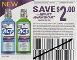 Act Advanced Care $2/1 Coupon 4/30