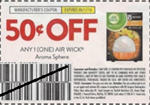 Air Wick Aroma Sphere Coupon 5/17