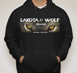 1b. Lakota Wolf Pull over sweat shirt
