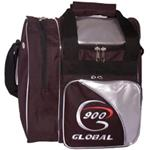 900 Global Bags-Fresh Single Ball Bag -Black/Silver