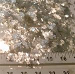 Mica Fluff- Silver Large