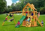 Chateau Clubhouse Treehouse Swing Set w/ Amber Posts