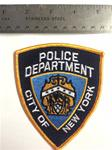 New York City Police Department Patch
