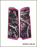 1911 GRIP PANELS MUDDY GIRL® W/ PINK FRAME
