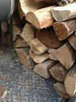 Premium Hickory or Oak half cord delivered and stacked