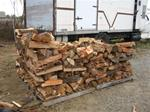 One Half Cord Firewood - Seasoned Firewood - Delivered and Stacked