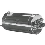 Chrome Hitachi Starter  fits 74-88 BT