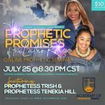 The Prophetic Promises Online Prophetic Seminar
