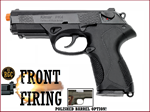 FRONT FIRE: 9mm Blank Gun: Kimar Beretta Px4 Blued Polished Barrel