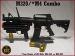 Custom M320 Combo w/M4 ALL METAL INERT Training Weapon