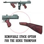 Removable Stock Option for Denix Thompsons