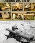 WWII Axis: RPzB 54 Panzerschreck with Shield  (German Ordnance Tan)