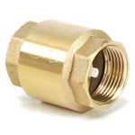 "1"" Spring Loaded Brass Check Valve"