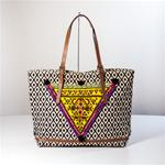 LARGE TRIBAL TRAVEL TOTE