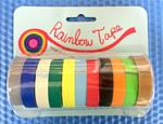 "3/8"" Color Masking Tape Rolls"