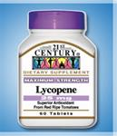 21st Century Lycopene 25mg Maximum Strength
