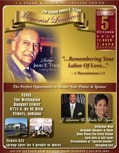 Tickets for Memorial Luncheon