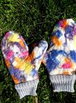 Felted Wool Kids Mittens