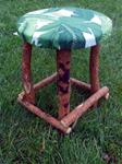 Willow and Wool Stool