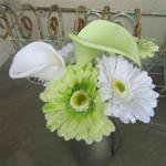 Gerbera Daisy and Calla Lily Bouquet