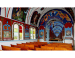 Painted Church - gallery wrap