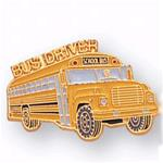 School Bus Driver Pin - Conventional
