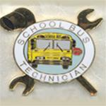 Large School Bus Technician (Mechanic) Lapel or Hat Pin