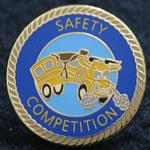 A Safety Competition Pin