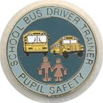 School Bus Driver Trainer Pin