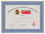 Certificates of Recognition