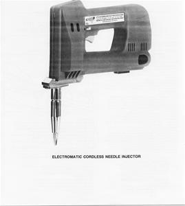 Cordless Electric Needle Injector - 703555