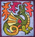 Tapestry Needlefelt Kit - Welsh Dragon