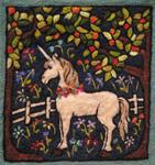 Tapestry Needle Felt Kit - Unicorn in an Orchard