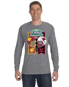 2019 MAC Football Championship Dueling Helmet Adult Tee